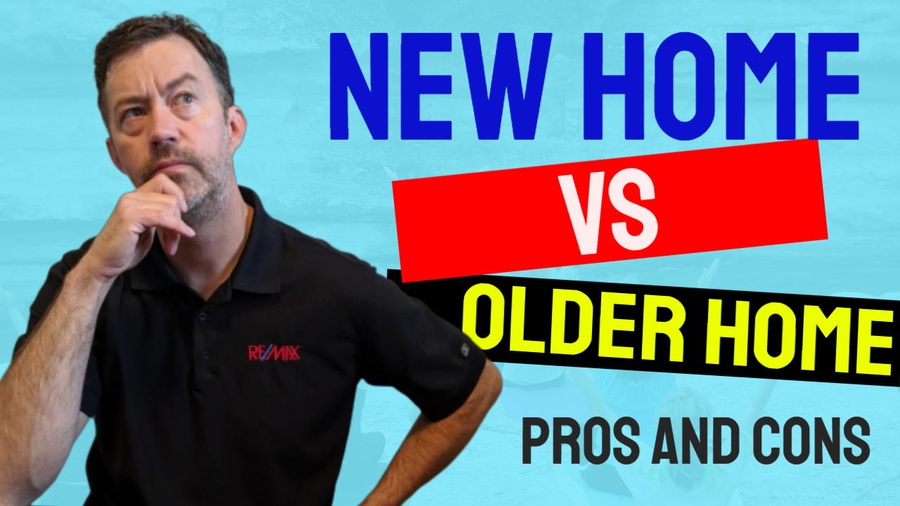 Biggest Differences Between Buying A New Home VS An Older Home?